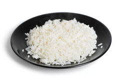 Plaat van rijst Stock Afbeeldingen
