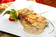 Plaat van voedsel Royalty-vrije Stock Foto