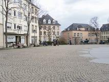 Plaats Clairefontaine in de stad van Luxemburg Stock Fotografie