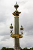 Plaats Concorde Paris stock afbeeldingen