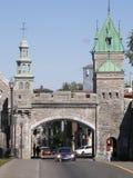 Plaats d'Youville in de Stad van Quebec, Canada stock afbeeldingen