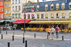 Plaats Dalton in boulogne-sur-MER, Frankrijk Royalty-vrije Stock Afbeelding