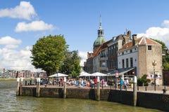 Plaats DAry in Dordrecht Royalty-vrije Stock Fotografie