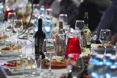 Plaats de lijst voor viering Stock Fotografie