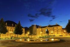 Plaats DE Verdun in Grenoble, Frankrijk stock foto