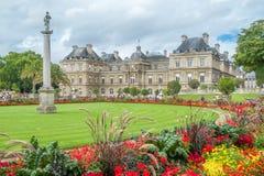 Plaats du Luxemburg, Parijs, Frankrijk Stock Foto