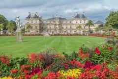 Plaats du Luxemburg, Parijs, Frankrijk Royalty-vrije Stock Afbeeldingen