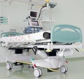 Plaats in icu, klaar om patiënten te ontvangen. Royalty-vrije Stock Foto's