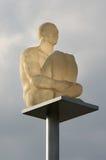 Plaats Massena - Nice Frankrijk: de nieuwe lampen Royalty-vrije Stock Foto's