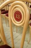 Plaats nummer 13. Royalty-vrije Stock Foto