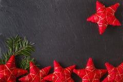 Plaats om Kerstmiswensen te schrijven Royalty-vrije Stock Afbeeldingen
