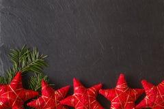 Plaats om Kerstmiswensen te schrijven Stock Foto