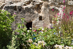 Plaats van de verrijzenis van Jesus Christ in Jeruzalem royalty-vrije stock fotografie