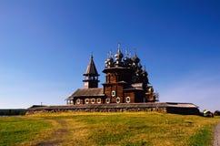 """Plaats van het Kizhi†de """"Russische Cultureel erfgoed Stock Afbeeldingen"""