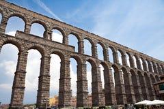 Plaats van Segovia stock afbeeldingen