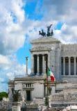 Plaats van Venetië, Rome. Italië. Stock Afbeelding