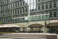 Plaats Ville Marie Montreal (belvedere) Stock Afbeelding