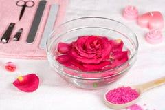 Plaats voor manicure Stock Afbeeldingen