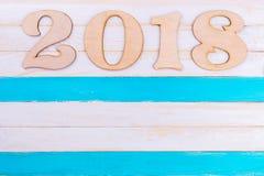 Plaats voor tekst en Nieuwjaarcijfers Stock Fotografie
