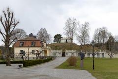 Plaats in Zweden op de lente Stock Fotografie
