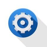 Plaatsend pictogram Stock Afbeelding