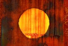 Plaatsende zon Stock Fotografie
