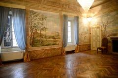 Placência, Italia - 19 de novembro de 2016: Vista interior de um 17o c Imagem de Stock
