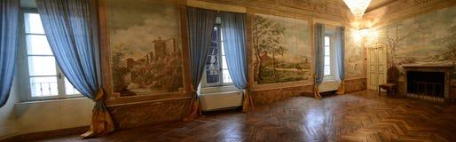 Placência, Italia - 19 de novembro de 2016: Vista interior de um 17o c Imagens de Stock