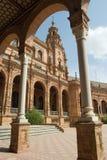 plac arch Espana zdjęcie royalty free
