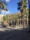 Plac Barcelona Zdjęcia Royalty Free