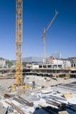 plac budowy Zdjęcia Stock