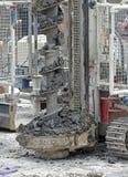 Plac budowy ciężkiej rośliny wyposażenie Zdjęcia Royalty Free