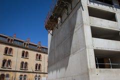 Plac budowy nowe budowy Zdjęcie Royalty Free
