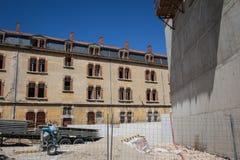 Plac budowy nowe budowy Fotografia Royalty Free