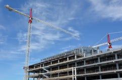Plac budowy nowy budynek w Christchurch Nowa Zelandia Zdjęcie Royalty Free