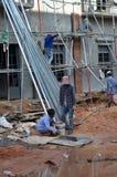 Plac budowy w Siem Przeprowadza żniwa w Kambodża Fotografia Royalty Free