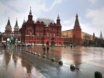 Plac Czerwony często rozważa główny plac Moskwa, Rosja Zdjęcie Stock