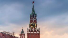 Plac Czerwony i St basila katedra w Moskwa zdjęcie wideo