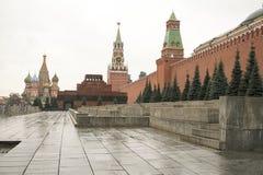 Plac Czerwony jest jeden sławni Rosja ` s miejsca interes Ono lokalizuje dobrze w sercu Moskwa Fotografia Stock