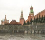 Plac Czerwony jest jeden sławni Rosja ` s miejsca interes Ono lokalizuje dobrze w sercu Moskwa Zdjęcia Royalty Free