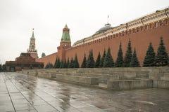Plac Czerwony jest jeden sławni Rosja ` s miejsca interes Ono lokalizuje dobrze w sercu Moskwa Zdjęcie Royalty Free