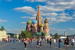 Plac Czerwony katedra Obrazy Royalty Free