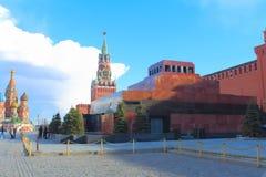 Plac Czerwony moscow Rosji Zdjęcia Stock