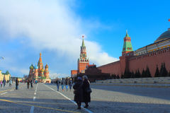 Plac Czerwony moscow Rosji Fotografia Stock