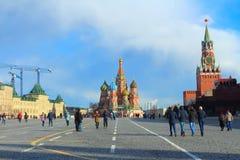 Plac Czerwony moscow Rosji Obraz Royalty Free