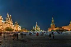 Plac Czerwony - Moskwa, Rosja fotografia stock