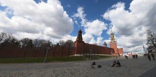 Plac Czerwony, Moskwa, Rosyjski federacyjny miasto, federacja rosyjska, Rosja Obrazy Royalty Free