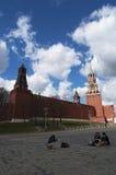 Plac Czerwony, Moskwa, Rosyjski federacyjny miasto, federacja rosyjska, Rosja Obraz Royalty Free