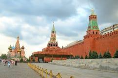 Plac Czerwony w Moskwa, Rosja Zdjęcie Stock