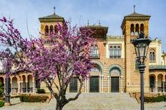 Plac de Ameryka w Seville, Hiszpania Obrazy Royalty Free